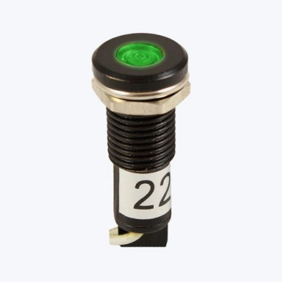 AD22C-10D/L-Зеленый AC/DC 24