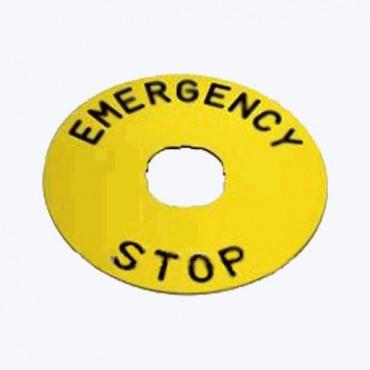 EMERGENCY STOP 60