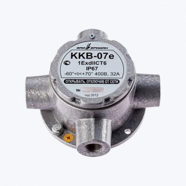 ККВ-07е-К - Коробка коммутационная взрывозащищенная крестообразная