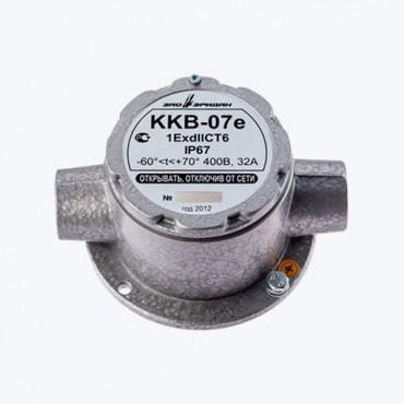 ККВ-07е-П - Коробка коммутационная взрывозащищенная проходная