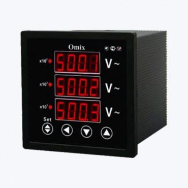 Omix P77-VX-3-0.5 - Цифровой трехфазный вольтметр
