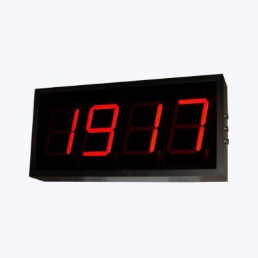 ВЕХА-Т-НТ127 - Универсальный тахометр-частотомер-счетчик времени наработки в виде настенного табло